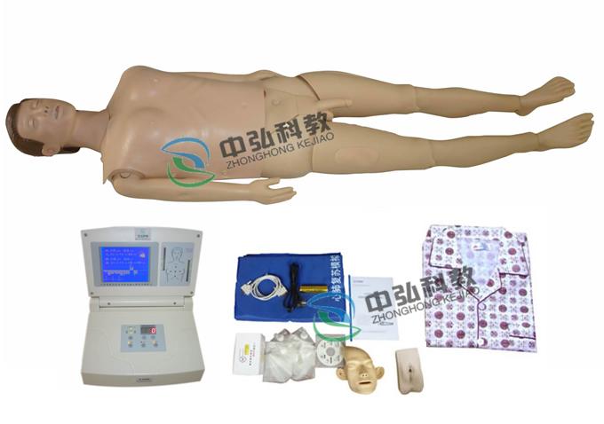 高级多功能护理急救训练模拟人(心肺复苏、导尿功能)