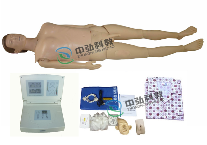 高级多功能护理急救训练模拟人(心肺复苏、男女导尿功能)