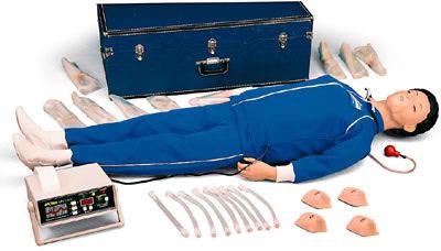 全身CPR模型人 电子监测考核打印仪