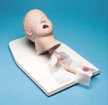 儿童气管插管训练模型