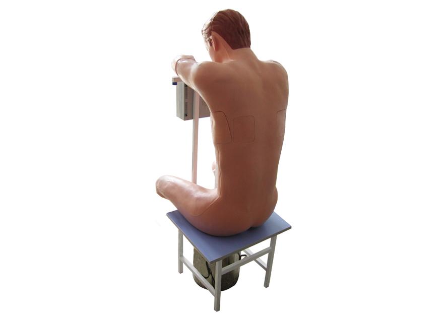 电动胸腔穿刺模拟人