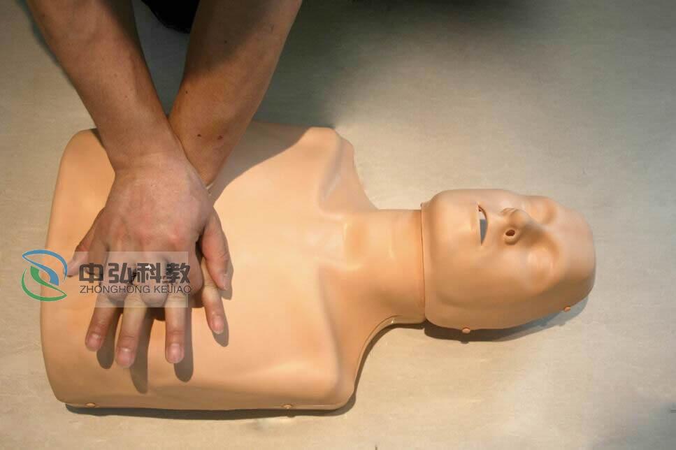 可调式成人与儿童心肺复苏模拟人(带报警)