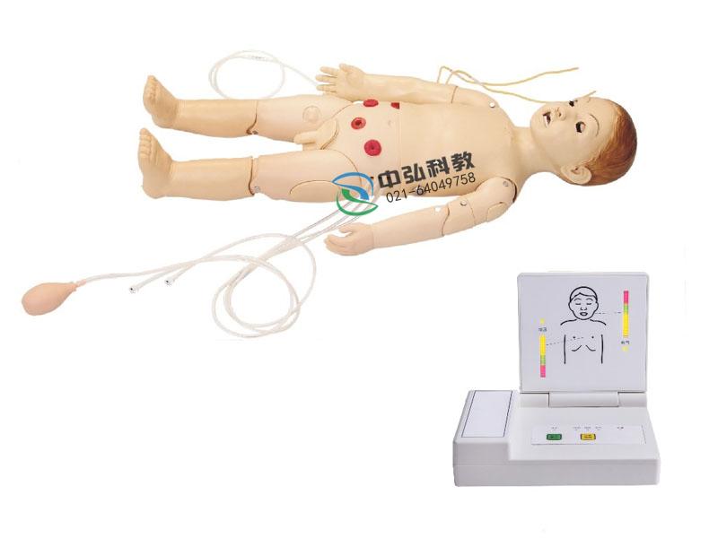 高级多功能三岁儿童综合急救训练模拟人(ACLS高级生命支持、嵌入式系统)