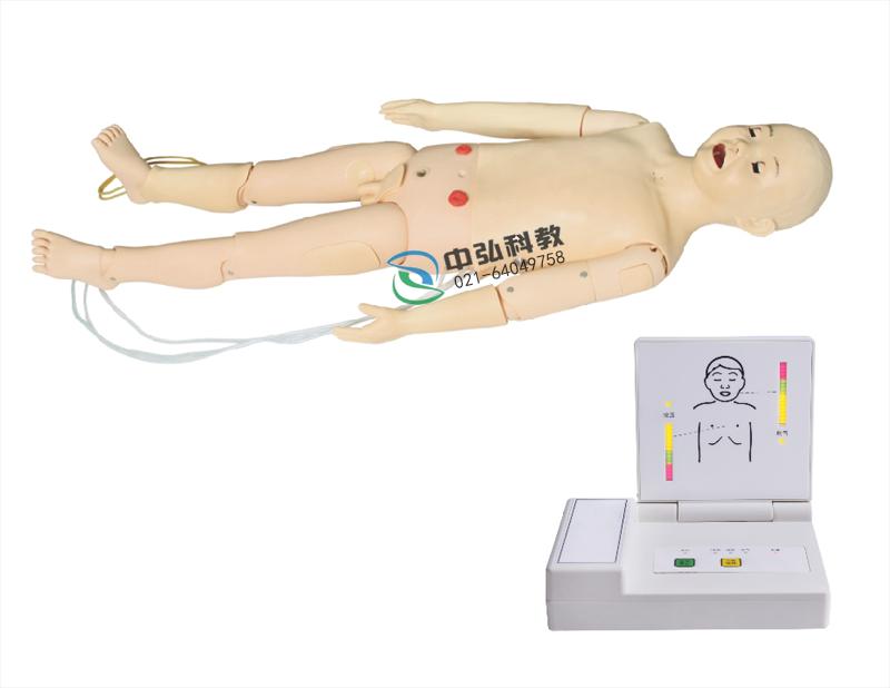 高级多功能五岁儿童综合急救训练模拟人(ACLS高级生命支持、嵌入式系统)