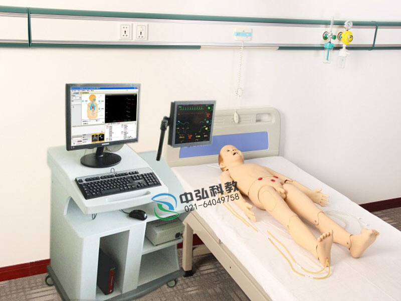 高智能数字化五岁儿童综合急救技能训练系统(ACLS高级生命支持、计算机控制 )