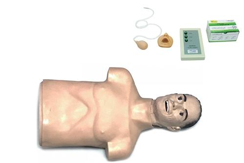 高级老年半身心肺复苏训练模拟人(带CPR控制器)
