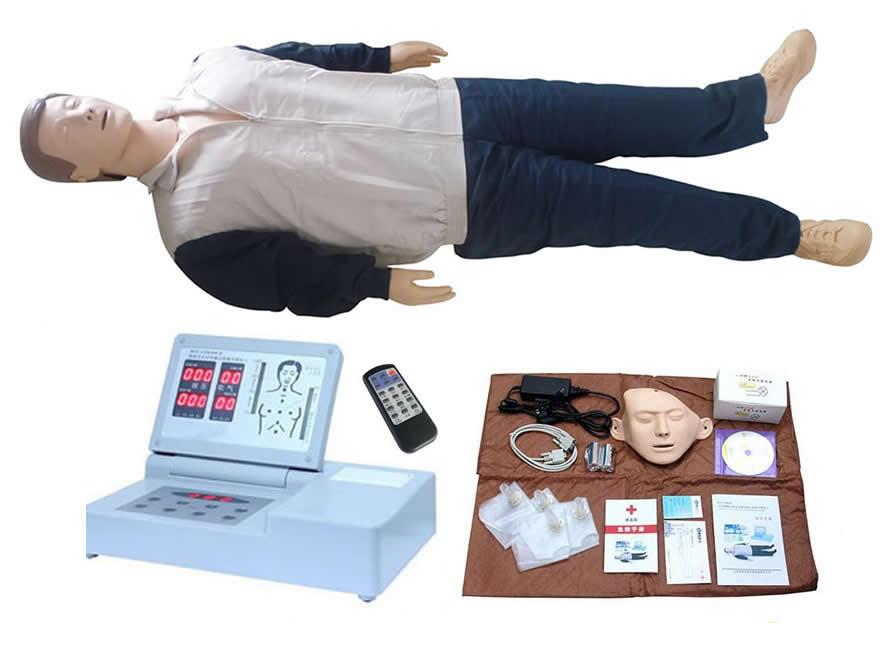 高级全自动电脑心肺复苏模拟人(RF摇控器控制)