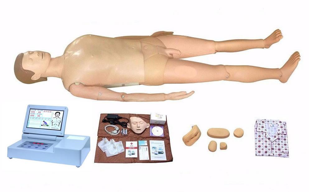 高级多功能护理急救训练模拟人(心肺复苏、男女导尿、手臂静脉穿刺)