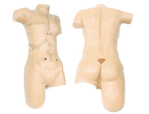 外科缝合包扎展示模型