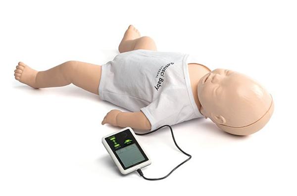 复苏婴儿模型人/配电子显示器